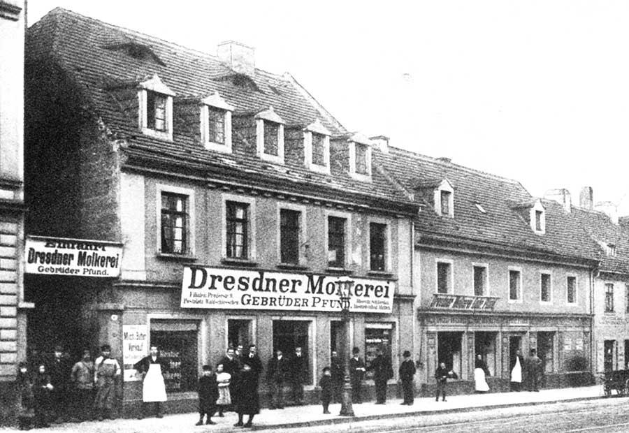 Geschäft auf der Bautzner Straße