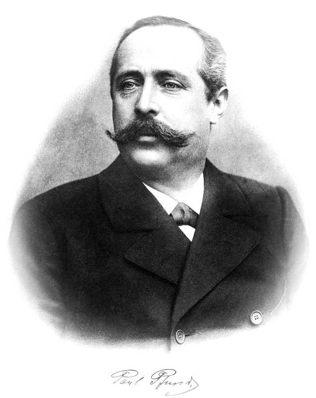 Founding of the Dresdner Molkerei Gebrüder Pfund by Paul Gustav Leander Pfund