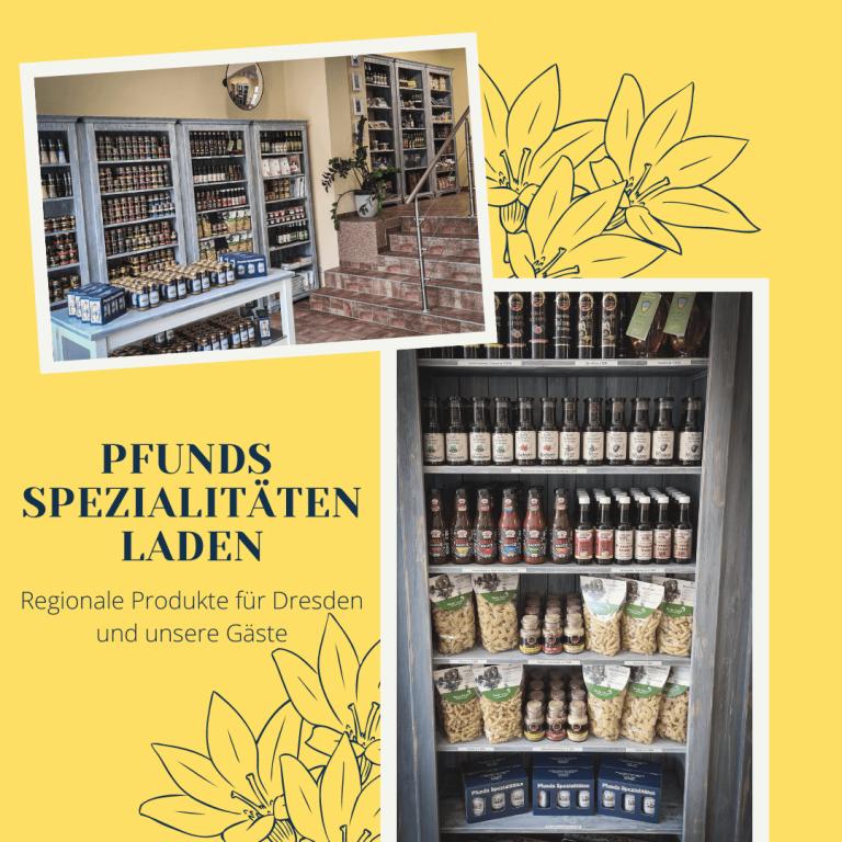 Eindrücke aus dem Pfunds Spezialitätenladen